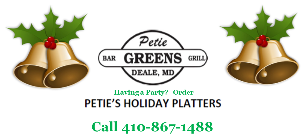 Petie Greens Party Platters